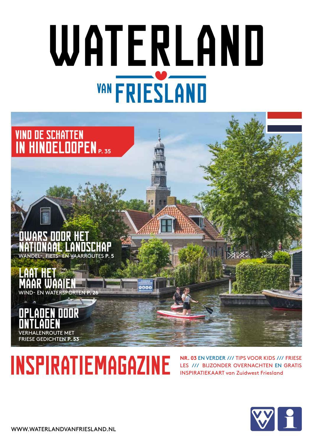 Waterland van Friesland Cover